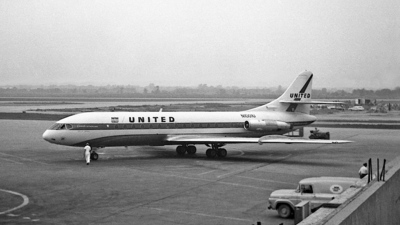 N1001U - Sud Aviation SE 210 Caravelle VIR - United Airlines