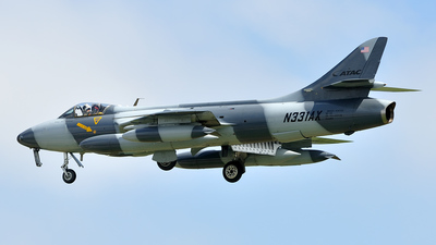 N331AX - Hawker Hunter F.58 - Airborne Tactical Advantage Company (ATAC)