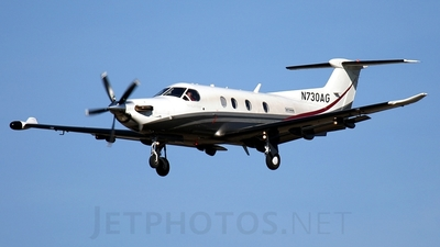 A picture of N730AG - Pilatus PC12/47E - [1133] - © Gerhard Ruehl