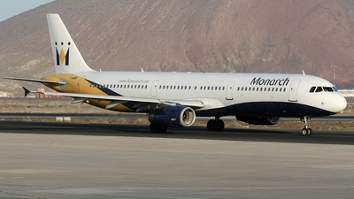 G-OZBH - Airbus A321-231 - Monarch Airlines