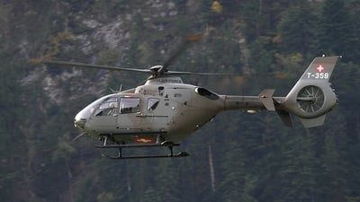 T-358 - Eurocopter EC 635P2 - Switzerland - Air Force