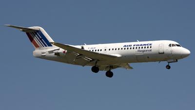 F-GLIV - Fokker 70 - Air France (Régional Compagnie Aerienne)