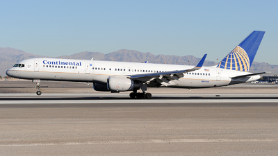 N41140 - Boeing 757-224 - Continental Airlines