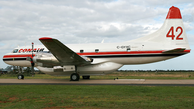 C-GYXC - Convair CV-580 - Conair Aviation