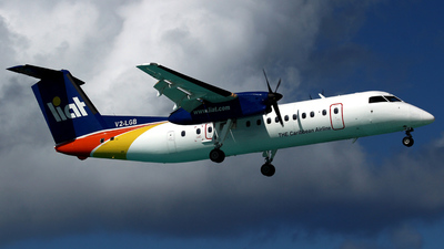 V2-LGB - Bombardier Dash 8-311 - Leeward Islands Air Transport (LIAT)