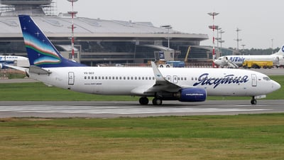 VQ-BOY - Boeing 737-85F - Yakutia Airlines
