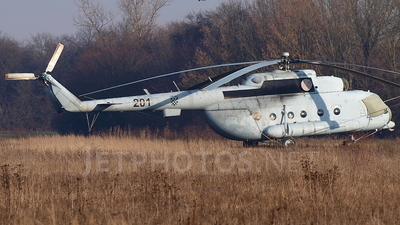 201 - Mil Mi-8MTV-1 Hip - Croatia - Air Force