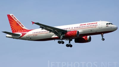 VT-ESH - Airbus A320-231 - Air India