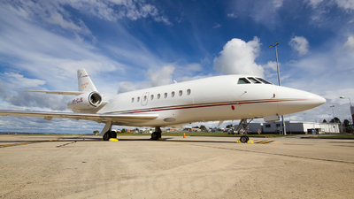 VP-CJS - Dassault Falcon 2000 - Private