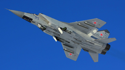 RA-90892 - Mikoyan-Gurevich MiG-31 Foxhound - Russia - Air Force