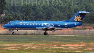 VN-A502 - Fokker 70 - Vietnam Airlines