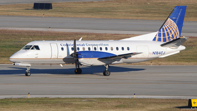 N184CJ - Saab 340B - Continental Connection (Colgan Air)