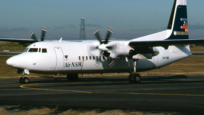 VH-FNE - Fokker 50 - Air New South Wales