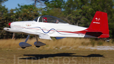 VH-YGY - Vans RV-8 - Private
