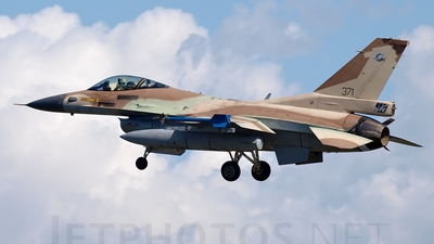 371 - Lockheed Martin F-16C Barak - Israel - Air Force