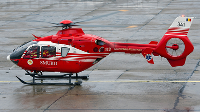 341 - Eurocopter EC 135T2+ - Romania - Emergency Rescue Service (SMURD)