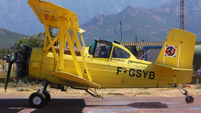 F-GSYB - Grumman G-164 Ag-Cat - Private