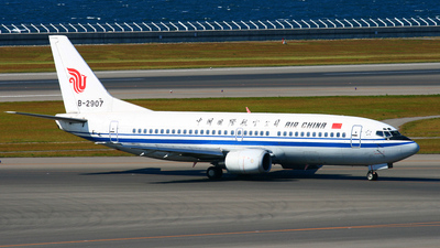 B-2907 - Boeing 737-33A - Air China
