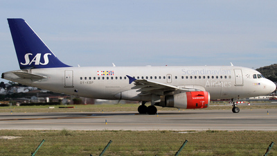 OY-KBP - Airbus A319-132 - Scandinavian Airlines (SAS)
