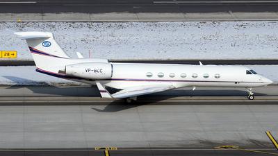 VP-BCC - Gulfstream G500 - Private