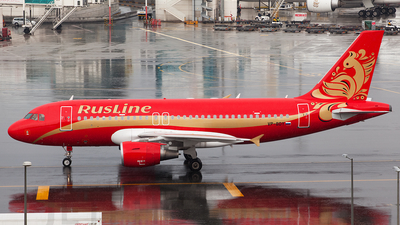 VP-BDY - Airbus A319-111 - Rusline