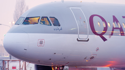 A7-AHD - Airbus A320-232 - Qatar Airways