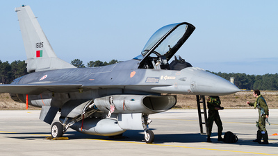 15125 - General Dynamics F-16AM Fighting Falcon - Portugal - Air Force
