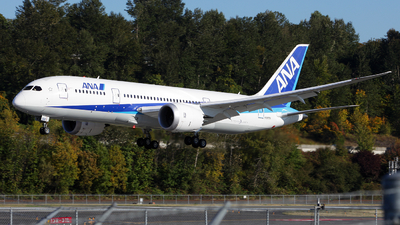 N787EX - Boeing 787-8 Dreamliner - All Nippon Airways (ANA)