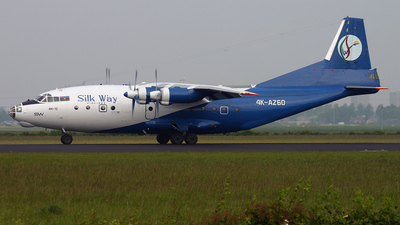 4K-AZ60 - Antonov An-12B - Silk Way Airlines
