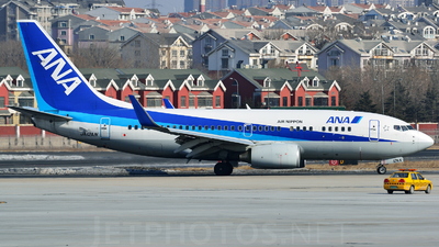 JA12AN - Boeing 737-781 - All Nippon Airways (ANA)