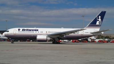 G-BYAA - Boeing 767-204(ER) - Britannia Airways