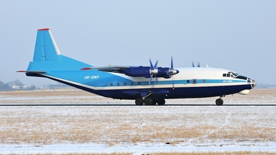 UR-DWF - Antonov An-12BK - Meridian Aviation