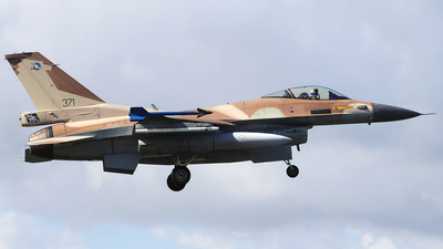 371 - Lockheed Martin F-16C Barak - Israel - Air Force