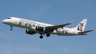 N177HQ - Embraer 190-100IGW - Frontier Airlines (Republic Airlines)