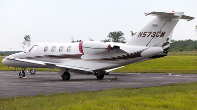 N573CM - Cessna 525 CitationJet 1 - Private