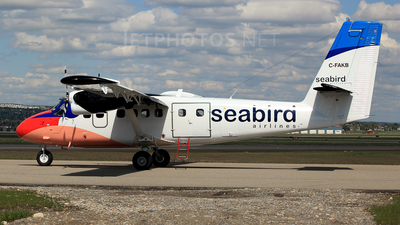 C-FAKB - De Havilland Canada DHC-6-300 Twin Otter - Kenn Borek Air