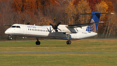 N34NG - Bombardier Dash 8-Q402 - United Express (Republic Airlines)