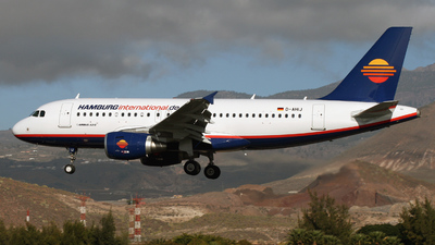 D-AHIJ - Airbus A319-111 - Hamburg International