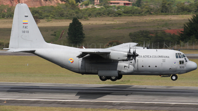 FAC1010 - Lockheed C-130B Hercules - Colombia - Air Force