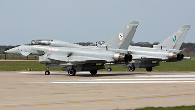 ZJ810 - Eurofighter Typhoon T.1 - United Kingdom - Royal Air Force (RAF)