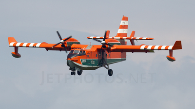 A picture of CFIGJ - Canadair CL415 SuperScooper - [2084] - © Mark Stares