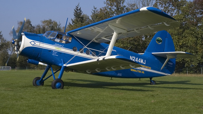N244MJ - PZL-Mielec An-2 - Private