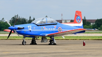 F19-12/34 - Pilatus PC-9 - Thailand - Royal Thai Air Force