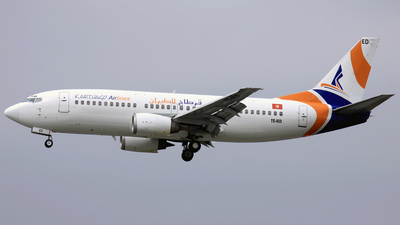 TS-IED - Boeing 737-33A - Karthago Airlines