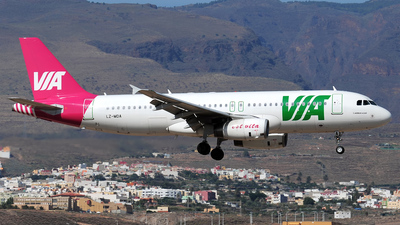 LZ-MDA - Airbus A320-232 - Air Via