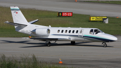 HB-VLZ - Cessna 560 Citation Ultra - Private