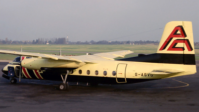 G-ASVO - Handley Page Dart Herald 214 - Aero Turbo Panama