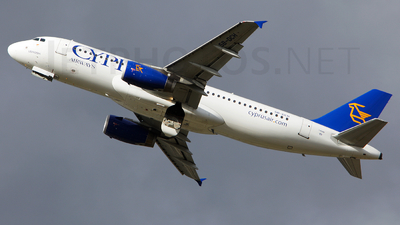 5B-DCH - Airbus A320-232 - Cyprus Airways