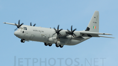 KC-3805 - Lockheed Martin C-130J-30 Hercules - India - Air Force