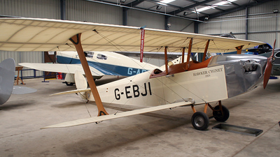 G-EBJI - Hawker Cygnet 1 - Private